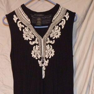 Grace Elements XLarge Knee Length Sleeveless Dress